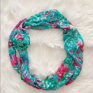 NWOT floral Lilly Pulitzer scarf
